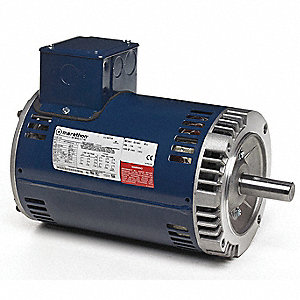 5 HP General Purpose Motor,3-Phase,3500 Nameplate RPM,Voltage 230/460,Frame 182TC