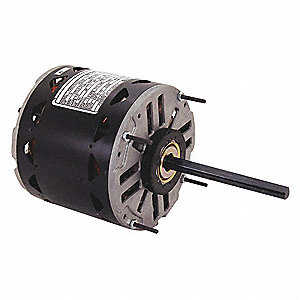 1/3, 1/8 HP Direct Drive Blower Motor, Permanent Split Capacitor, 825 Nameplate RPM, 208-230 Voltage