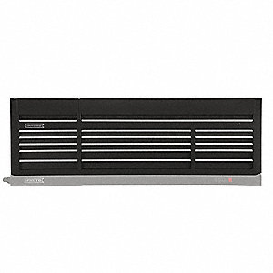 Top Chest,Black,88 in. W,15 Drawers