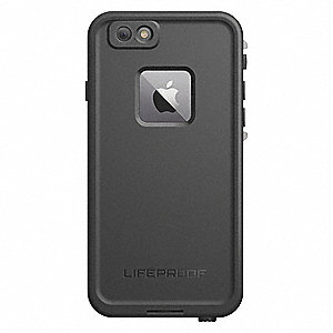 Cell Phone Case, Black, Fits Apple