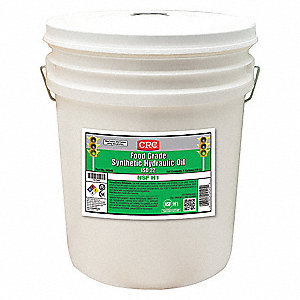 Hydraulic Oil,5 gal.,ISO 22,Pail,Clear