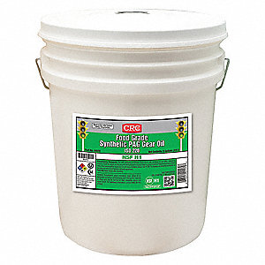 Synthetic Gear Oil,5 gal.,ISO 220,Pail