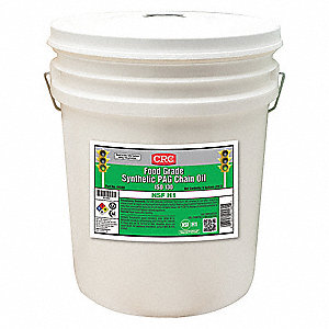 Synthetic PAG Gear Oil, 5 gal. Container Size