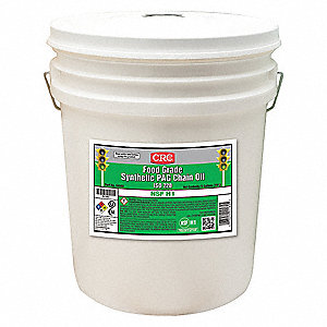 Synthetic, SAE Grade : 85W, 5 gal. Pail
