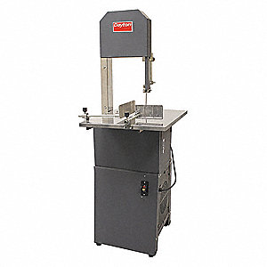 3/4 HP Vertical Band Saw, Meat Cutting, Voltage: 120, Max. Blade Length: 82