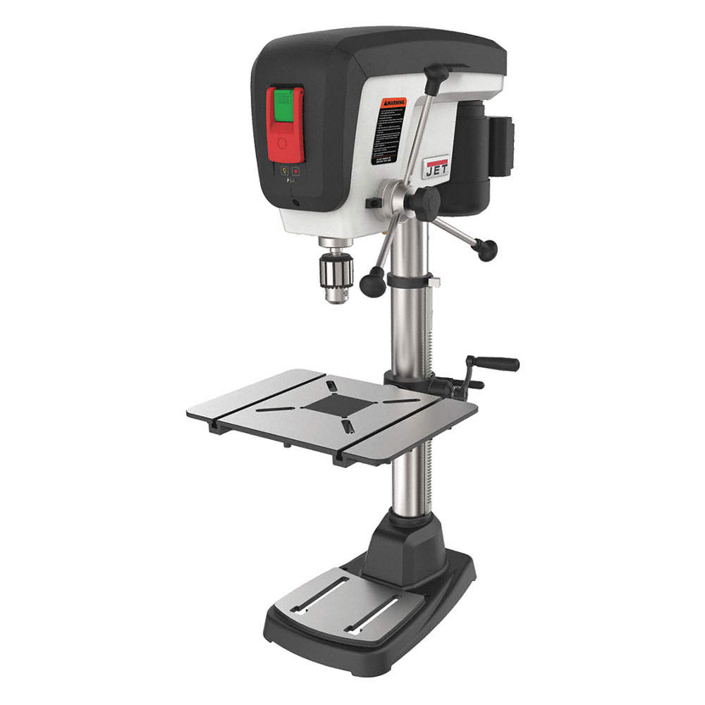 3/4 Motor HP Bench Drill Press, Belt Drive Type, 15
