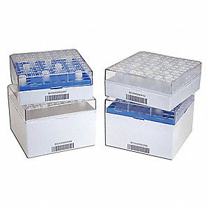 "Cryogenic Vial 2D Box,5-1/4"" L,Natural"