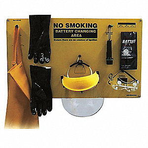 Personal Protective Equipment Kit,Yellow