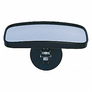 Side-View Magnetic Mirror,Black,Plastic