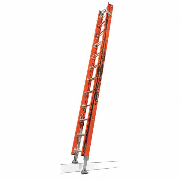 Little Giant 24 Ft Fiberglass Extension Ladder 375 Lb