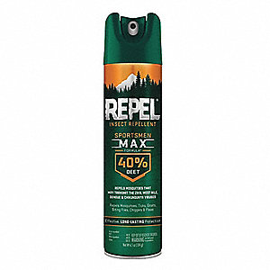 Insect Repellent, Aerosol, Outdoor Only, Ready to Use Dilution Ratio