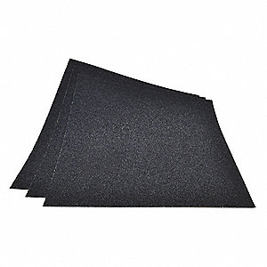 "Fine Aluminum Oxide Sandpaper Sheet, 150 Grit, 11"" L X 9"" W, Backing Weight : C, 100 PK"