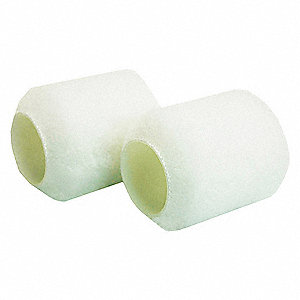 Paint Roller Cover,3 in.L,3/8in. Nap,PK2