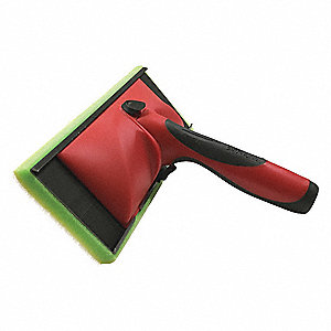 Paint Pad,3-3/4 in. L x 9 in. W,Red/Blk