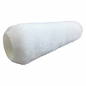"Paint Roller Cover, High Density Knit Fabric Cover Material, 9"" Length, 1/2"" Nap"