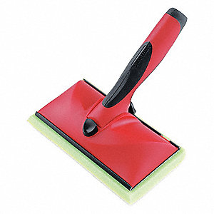 Paint Pad,3-3/4 in. L x 7 in. W,Red/Blk