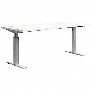 "Rectangle Training Tabletop, Silver Mesh, 60""W x 24"" Depth"