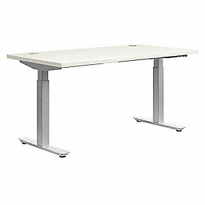 "Rectangle Training Tabletop, Silver Mesh, 60""W x 30"" Depth"