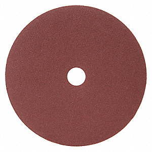 Fiber Disc,Brown,Fine,7 in. Dia.,PK25