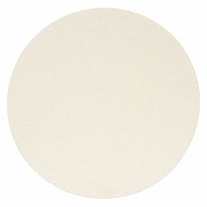 Hook-and-Loop Film Disc,White,PK50