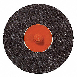 "2"" Coated Quick Change Disc, TR Roll-On/Off Type 3, 60, Coarse, Ceramic, 50 PK"