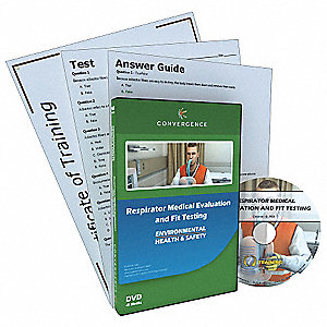 Respirator Medical Evaluation,DVD
