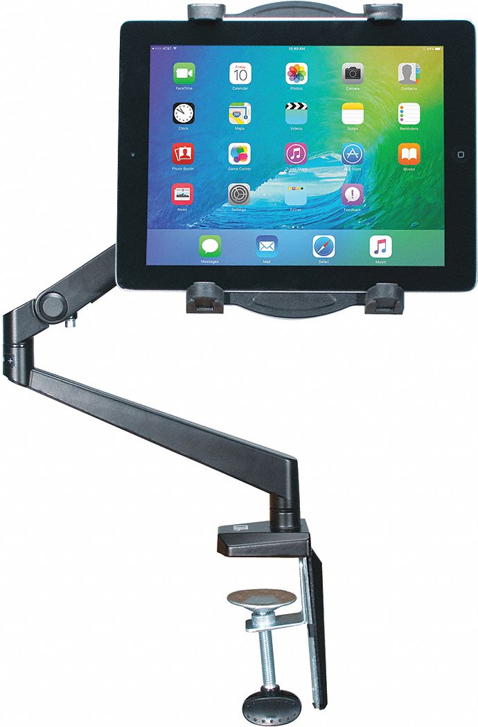Tablet Tabletop Arm Mount, Gray