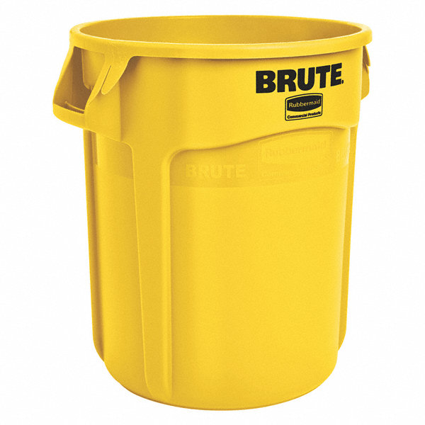 Rubbermaid Brute 174 55 Gal Round Open Top Utility Trash Can