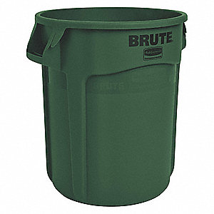 ROUND CONTAINER 10 GAL DARK GREEN