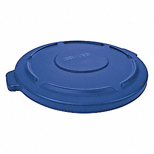 BRUTE-Type Trash Can Top for 10 gal. Container, Blue