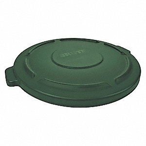 BRUTE-Type Trash Can Top for 10 gal. Container, Green
