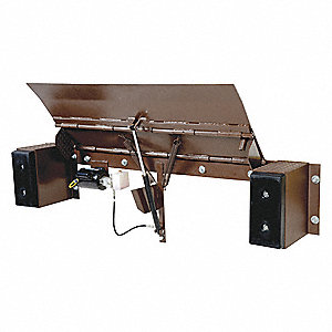 "Edge of Dock Leveler Electric Hydraulic, 25,000 lb. Load Capacity, 98"" Overall Width"