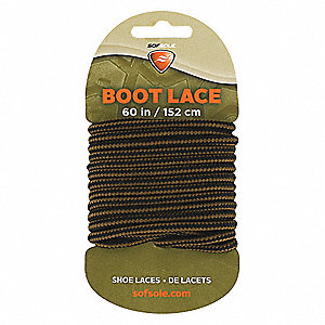 "60"" Shoes and Boots Laces, Gold Brown"