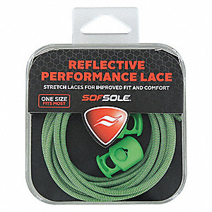 "38"" Shoes and Boots Laces, Green"