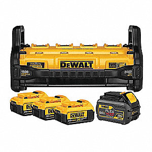 DEWALT Battery and Charger Kits