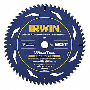 Circular Saw Blade,12300 RPM,60 Teeth