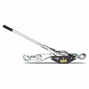 Ratchet Puller, 3000 lb. Lifting Capacity, 6 ft. Cable Length