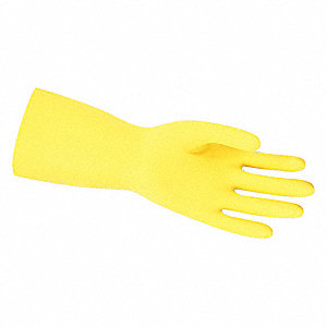 GLOVE,YELLOW,L 12IN,LATEX,LARGE
