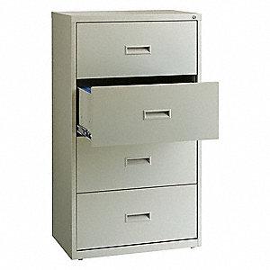 hirsh 30 x 18 63 x 52 5 4 drawer hl1000 series lateral file cabinet rh grainger com