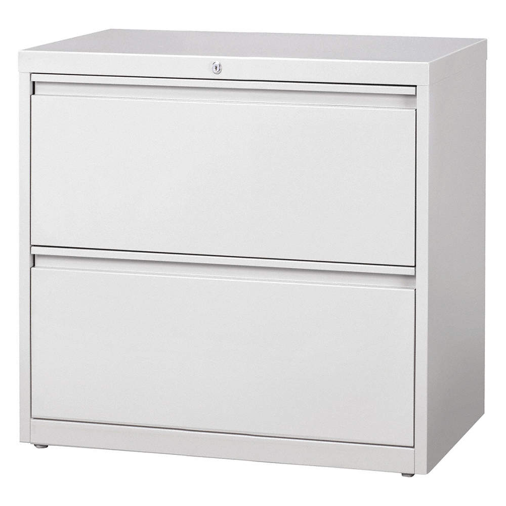 detailed pictures 510e1 526dd 30 x 18.63 x 28 2-Drawer HL10000 Series Lateral File Cabinet, Light Gray