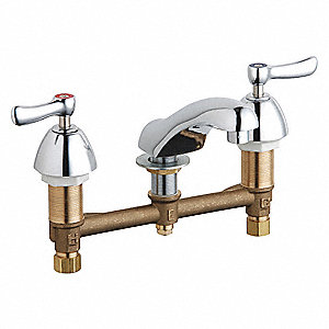 Brass Bathroom Faucet, No. of Handles: 2
