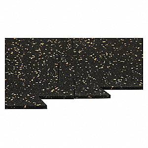 BRAVA X Rubber Floor Tile Cobalt YE Grainger - 12 x 12 rubber floor tiles