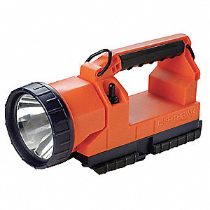 Lantern,LED,4Cell w/Charger,12VDC,Orange