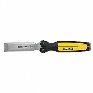 Folding Pocket Chisel,1 In. x 8-1/2 In.