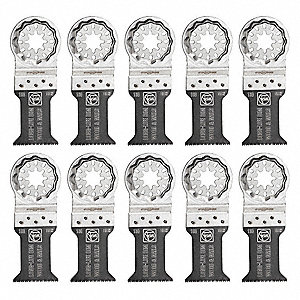 Saw Blades,1-3/8 in. Size,PK10
