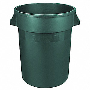 Food-Grade Waste Container,10 gal.,Gr