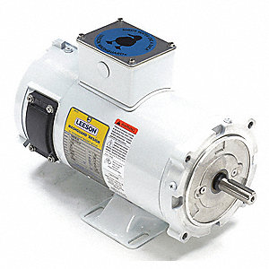 1/2 HP DC Washdown Motor DC Permanent Magnet,1750 Nameplate RPM 90VDC Voltage 56C Frame