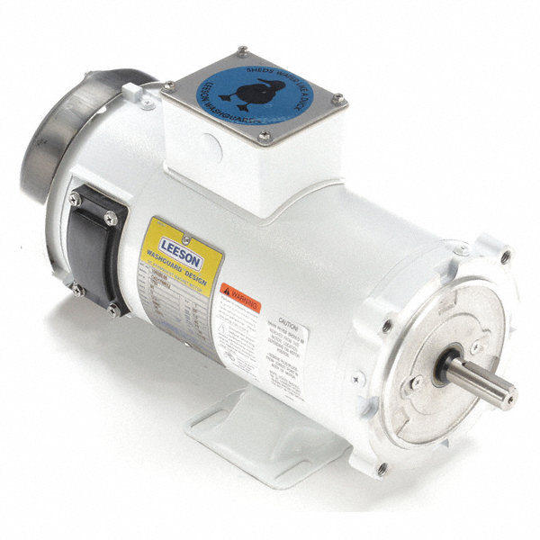 Leeson 1 Hp Dc Washdown Motor Permanent Magnet Dc 1750