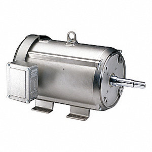 7-1/2 HP Washdown Close Coupled Pump Motor,3-Phase,1765 Nameplate RPM,230/460 Voltage,Frame 213JM