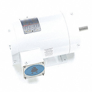 Washdown Motor,1-1/2 HP,Face/Base,CWSE